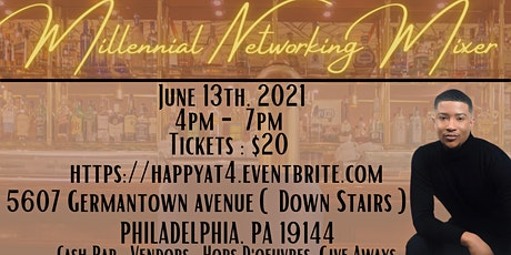 Happy at 4 Millennial Networking Event tickets