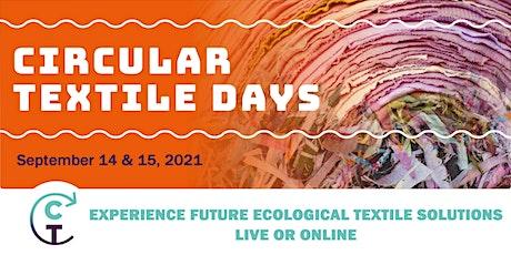Circular Textile Days 2021 ONLINE entradas
