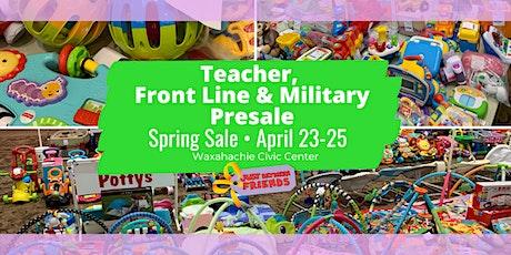 Just Between Friends Waxahachie: Teacher/Front Line/Military Ticket - FREE tickets