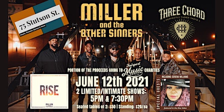 RISE Album Release for Miller and The Other Sinners 3PM Show tickets