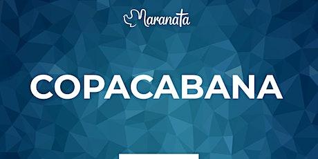Celebração 11 abril| Domingo | Copacabana ingressos