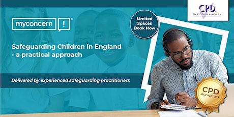 Safeguarding Children in England; a practical approach C#1 tickets