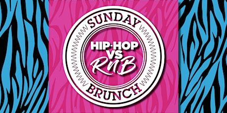 Hip-Hop vs RnB - May Bank Holiday Brunch tickets