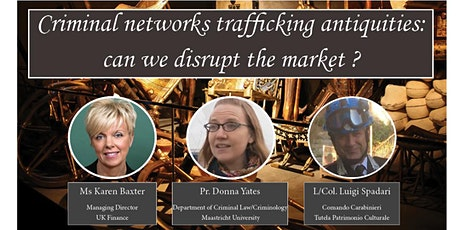 Criminal networks trafficking antiquities: can we disrupt the market ? tickets