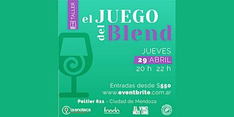 Taller de vinos: EL JUEGO DEL BLEND entradas