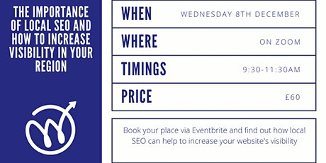 The Importance of Local SEO and How to Increase Visibility in Your Region tickets