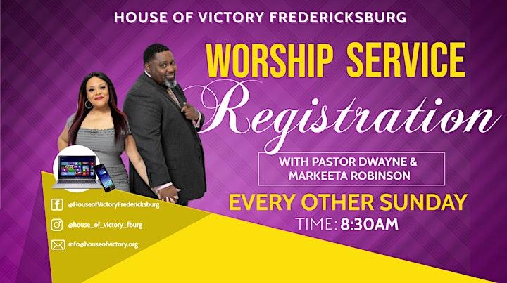 House of Victory Fredericksburg Church Worship Service image
