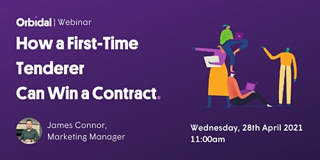 [Webinar] How a First-Time Tenderer Can Win a Contract tickets