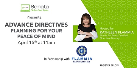 Advance Directives - Planning for your Peace of Mind tickets