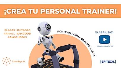 Taller ONLINE  gratuito: Crea tu personal trainer gracias a la IA entradas