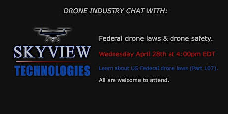 Monthly Drone Chat. tickets