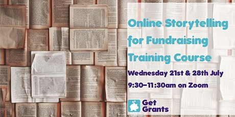 Online Storytelling for Fundraising Training Course tickets