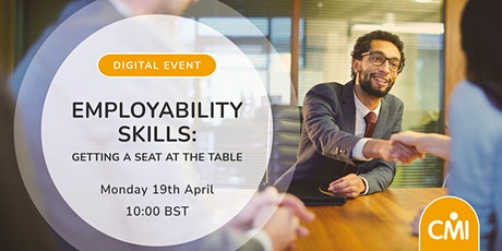 Employability Skills. Getting a seat at the table tickets