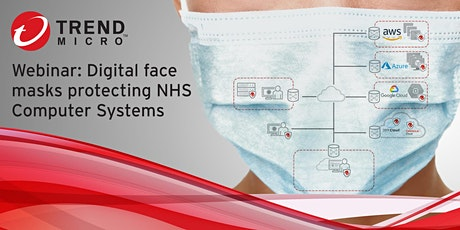 Digital face masks protecting NHS Computer Systems tickets