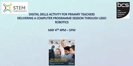 Digital Skills  activity for Primary Teachers UK based tickets