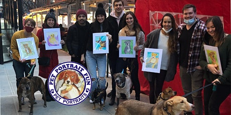 Paint Party  Pet Portrait Fun- Barking Dog New York tickets