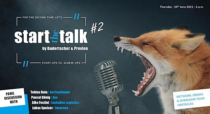 start the talk #2 – Start-Ups vs. Screw-Ups image