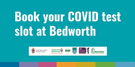 Bedworth COVID Community Testing Site – 18th April tickets