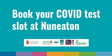 Nuneaton COVID Community Testing Site – 17th April tickets