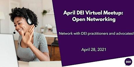 April DEI Virtual Meetup: Open Networking tickets