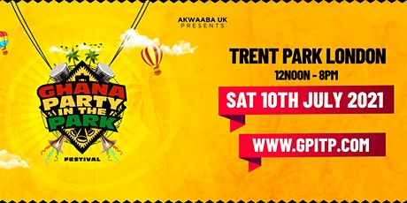 Ghana Party in the Park - Festival 2021 tickets