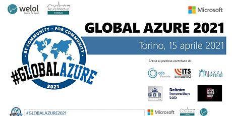 Global Azure Torino 2021 VIRTUAL - It's not Global Azure ... but I like it biglietti