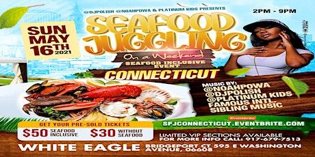 @DJPOLISH @NOAHPOWA & @PLATINUMKIDS  PRESENT SEAFOOD JUGGLING CT tickets