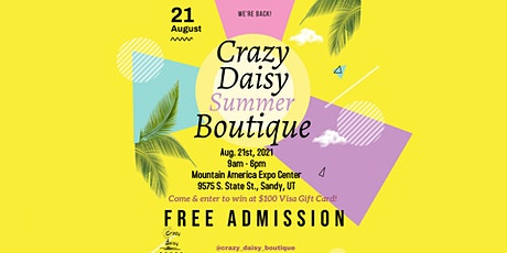 Crazy Daisy Summer Boutique tickets