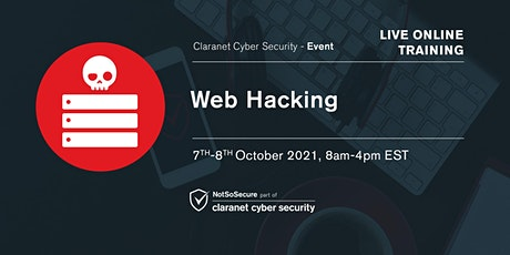 Web Hacking - Live Online Training tickets