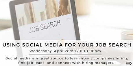 Using Social Media for your Job Search tickets