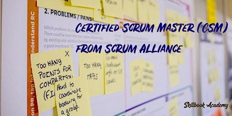 CSM® - Aug 07/08 - Eastern: Certified ScrumMaster® from Scrum Alliance® tickets