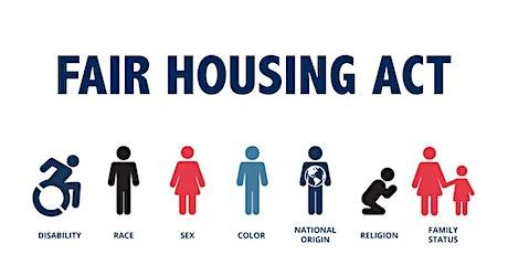 Fair Housing 101 - Virginia Fair Housing Office (DPOR) tickets