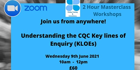 Understanding the CQC Key Lines of Enquiry (KLOEs) tickets