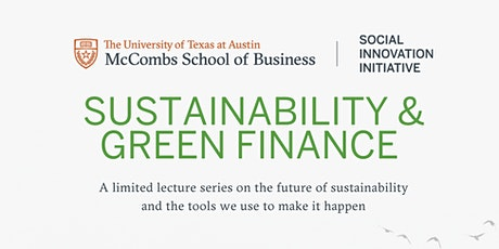 Sustainability & Green Finance Series tickets