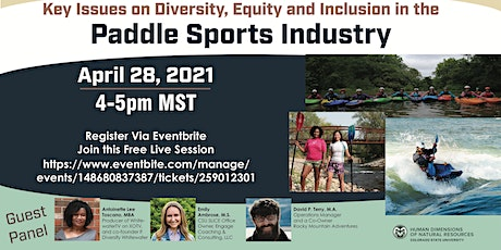 Key Issues on Diversity, Equity and Inclusion in the Paddle Sports Industry tickets