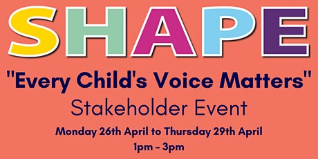 """Every Child's Voice Matters""  Event Day 2 tickets"