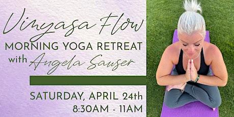 Vinyasa Flow | Morning Yoga Retreat tickets