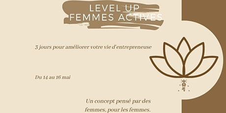 Level Up Femmes Actives billets