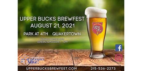 Upper Bucks Brewfest tickets