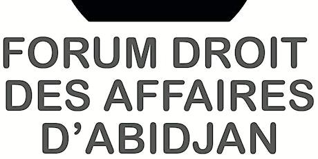 Forum Droit des Affaires billets
