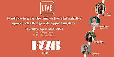 FAB Dubai Webinar: Fundraising for Impact entradas