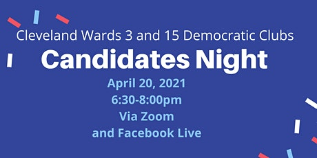 Candidates Night: Cleveland Wards 3 and 15 Democratic Clubs tickets
