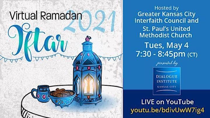 Virtual Ramadan Iftar With Interfaith council & St. Paul's UMC image