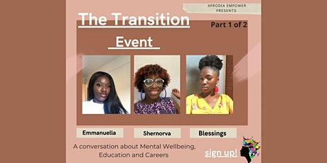 TRANSITION - The New Normal - PART 1 tickets