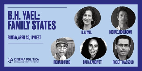 b.h. Yael: Family States - Book Launch, Screening and Celebration tickets