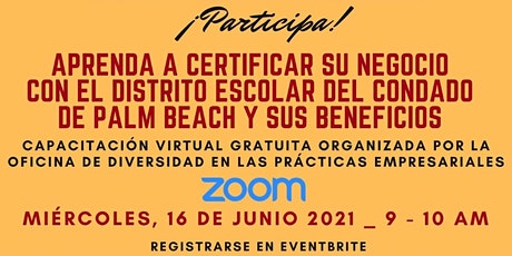 How to Be Certified with PBCSD in Spanish. Aprende como certificarte. entradas
