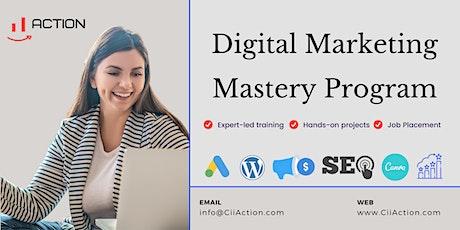 Digital Marketing Training Courses 2021 tickets