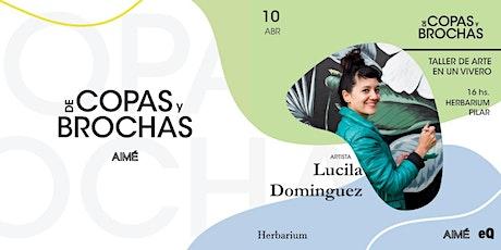 De Copas y Brochas PILAR @Lucila Dominguez entradas