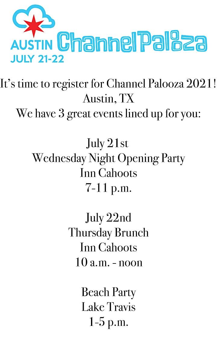 Channel Palooza 2021 image