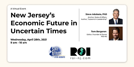 New Jersey's Economic Future in Uncertain Times tickets